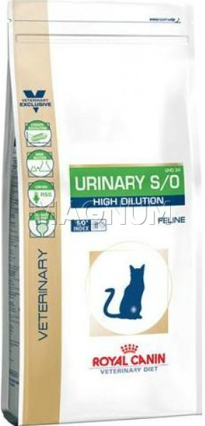 Royal Canin Urinary S/O High Dilution UHD34 Feline (Уринари С/О Хай Делюшн УХД 34 Фелин)
